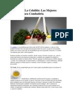 Dieta Para La Celulitis