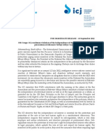Press Release.persecution of DRC Bar Leader
