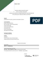 Programa Simposio Idealismo alemán
