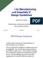 DFMA II Design Guidelines