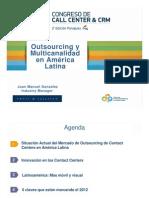 Perspectiva Regional del Mercado de Outsourcing. Frost&Sullivan