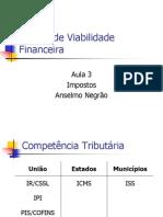 Análise de Viabilidade Financeira - Aula 3 - Impostos