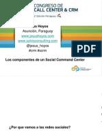 Los cuatro componentes para implementar un Social Comand Center
