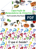 Treinamento Manipuladores Messias