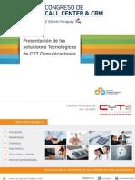 Panel de Tecnología. CYT Comunicaciones