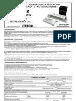 Manual Equipo de Emergencia Atomlux (Todo)