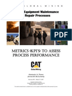 Metrics (KPI's) to Assess Process Performance
