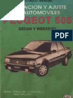Manual Taller Peugeot 505