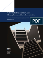 Pathways to the Middle Class