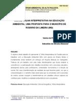 1 - USO DE TRILHA INTERPRETATIVA NA EDUCAÇÃO AMBIENTAL UMA PROPOSTA PARA O MUNICÍPIO DE ROSÁRIO DA LIMEIRA (MG)