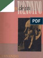 Santiván - Memorias de un tolstoyano (1955)