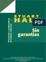 Stuart Hall-Sin garantías