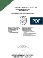 Cover Dan Pengesahan Perangkat Mengajar