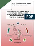 Informe Preliminar EIA Conga - Cip Cajamarca