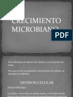 CRECIMIENTO MICROBIANOdiapositivas
