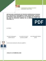 Metodologia Integradora de Procesos Empresariales