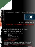 Presentacion Centro Cultural Lima Norte
