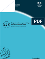 2010 Diagnosis and Management of Psoriasis Adult