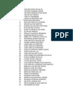 Lista Da Bracol