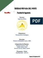 PLAN ESTRATEGICO DE MINERIA EN CAJAMARCA   EN 20 AÑOS pa  presentar el domingo