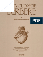 Encyclopédie Berbère Volume 10