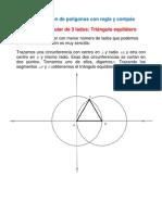 Construcción de polígonos con regla y compás
