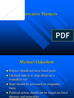 Conservative Thinkers