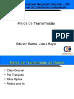 Redes Meios de Transmicao