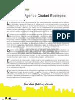Agenda de Ciudad Ecatepec