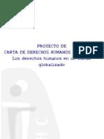 PROYECTO DE CARTA DE DERECHOS HUMANOS EMERGENTES