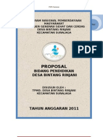 Proposal Pendidikan