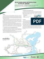 Poster - Rede de Mobilidade Metropolitana do Rio de Janeiro