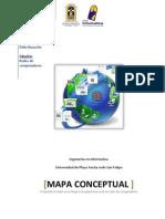 Mapa Conceptual de Redes de Computadoras