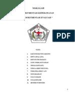 makalah dokumentasi evaluasi keperawatan