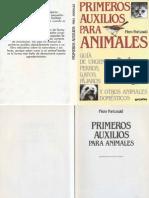 Animales - Primeros Auxilios Para Animales