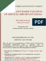 Puloma Dalal Service Tax