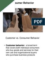 3 Consumer Behaviour