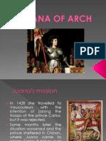 Juana de Arco - Biografia