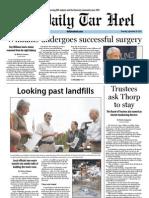 The Daily Tar Heel for September 20, 2012