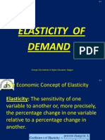 ElasticityofDemand-- Price and Income Elasticity