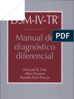 Manual de Diagnostico Diferencial Escrito Por M. B. First-Allen Frances-Harold Alan Pincus