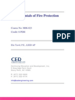 Fundamentals of Fire Protection