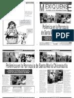 Versión impresa del periódico El mexiquense 19 septiembre 2012