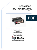 Multiswitch - C250 Instruction Manual