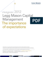Mauboussin - The Importance of Expectations