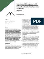 Determination of Chloramphenicol in Fish Meat Agilent