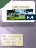 INSTITUCIONES ADUANERAS