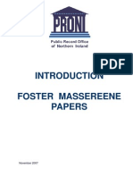 Foster Masereene Papers