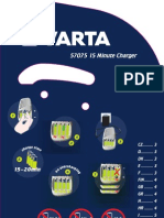 Manual Cargador Varta 15 Minute Charger
