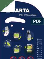 Manual Cargador Varta 15 Minute Charger